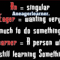 Aneager Learner